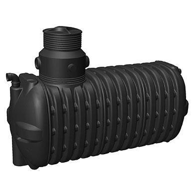 Regenwassernutzung mit Zisterne aus Kunststoff